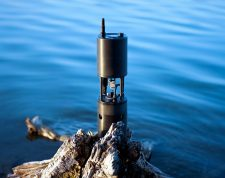 Sunburst Sensor's Submersible Autonomous Moored Instrument will collect measurements for OOI. (Credit: Photo provided by J. Newton, Sunburst Sensors, LLC)