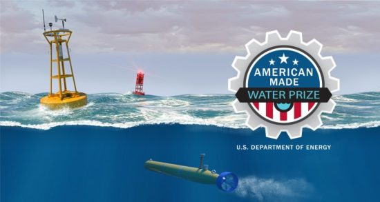 American Made Water Prize from the U.S. Department of Energy